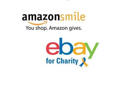 amazon and ebay logos
